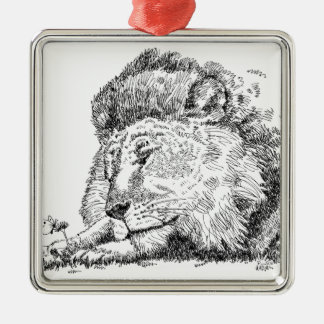 Lion Products.jpg Metal Ornament