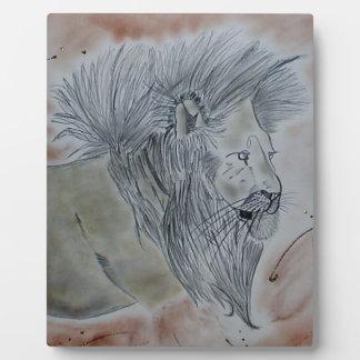 Lion products photo plaques