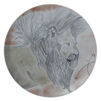 Lion products party plates