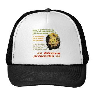 Lion Proverbs Series Trucker Hat