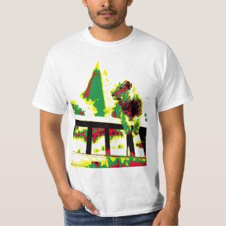 lion pyramid tee shirt
