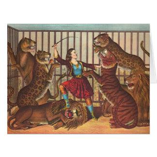 Lion Queen 1874 Card