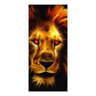 Lion Rack Card