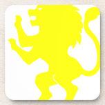 Lion Rampant Beverage Coasters