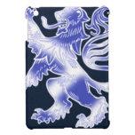 Lion Rampant Blue iPad Mini Case