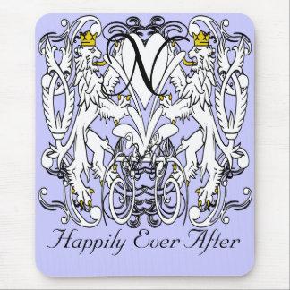 Lion Rampant Renaissance Wedding Mouse Pad