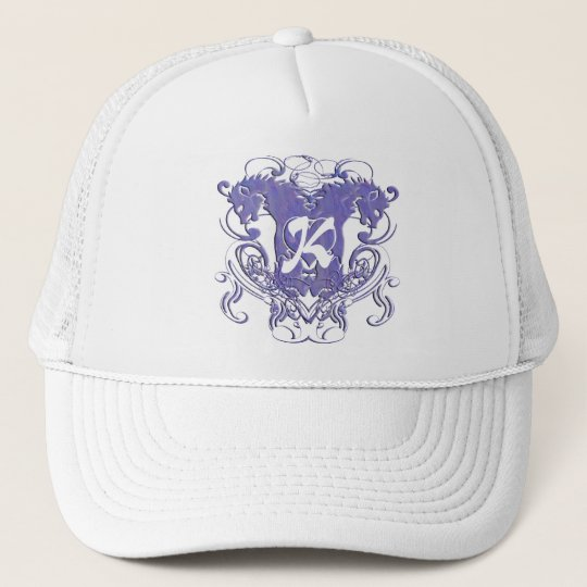 Lion Rampant Renaissance Wedding Trucker Hat