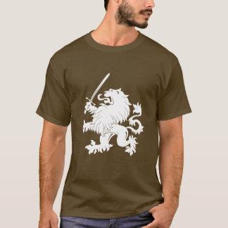 Lion Rampant with Sword Heraldry T-Shirt
