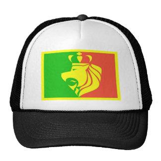 Lion Rasta Reggae Flag Mesh Hats