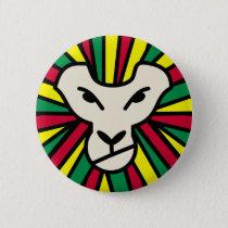 Lion Rastafari Coloured Mane Button