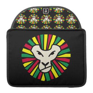 Lion Rastafari Coloured Mane Sleeve For MacBooks