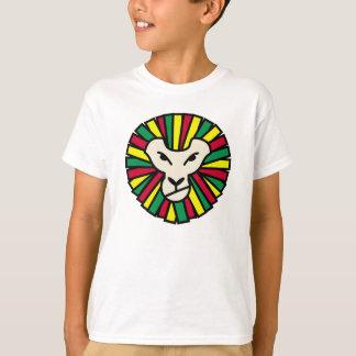 Lion Rastafari Coloured Mane T-Shirt