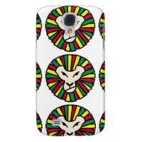 Lion Rastafarian Flag Galaxy S4 Cover