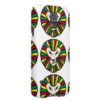 Lion Rastafarian Flag Galaxy S5 Case