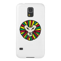 Lion Rastafarian Flag Galaxy S5 Cover