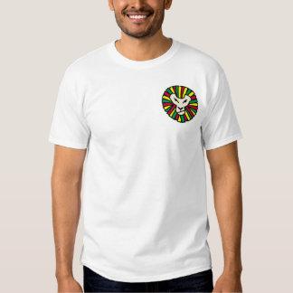 Lion Rastafarian Flag Shirt