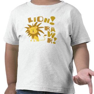 Lion Rawr T Shirts
