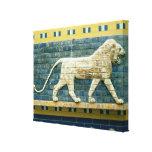 Lion representing Ishtar Canvas Prints