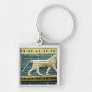 Lion representing Ishtar Keychain