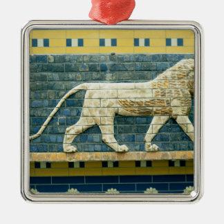Lion representing Ishtar Metal Ornament