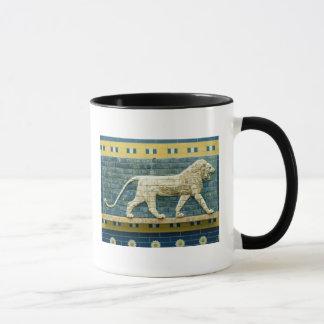 Lion representing Ishtar Mug