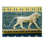 Lion representing Ishtar Postcards