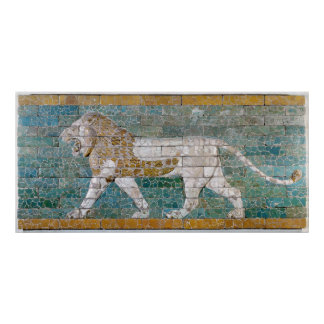 Lion representing Ishtar Posters