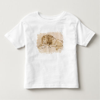 Lion Resting (pen and ink on paper) Tee Shirt