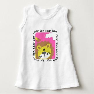 Lion Roar Baby Sleeveless Dress