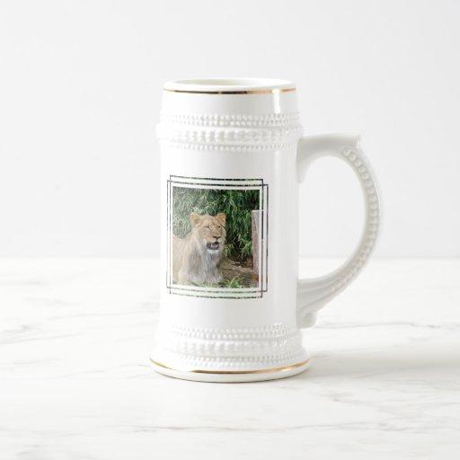 Lion Roar Beer Stein Mug