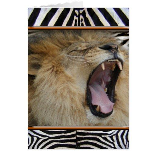 LION ROAR CARDS
