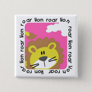 Lion Roar Tshirts and Gifts Button