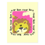 Lion Roar Tshirts and Gifts Post Card
