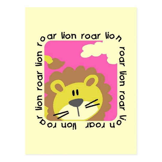 Lion Roar Tshirts and Gifts Postcard
