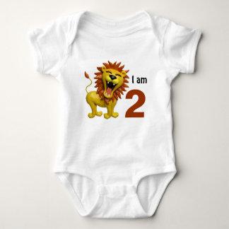 Lion Roaring Baby Bodysuit