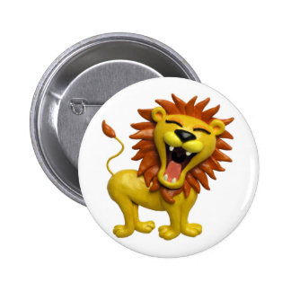 Lion Roaring Button
