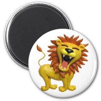 Lion Roaring Magnet