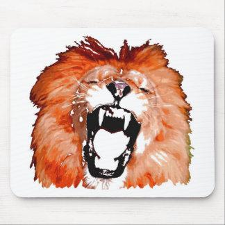 Lion Roaring Mouse Pad