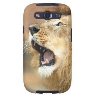 Lion Roaring Portrait Galaxy S3 Case