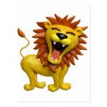 Lion Roaring Postcards