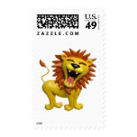 Lion Roaring Stamps