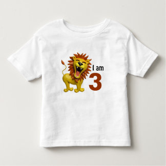Lion Roaring Toddler T-shirt