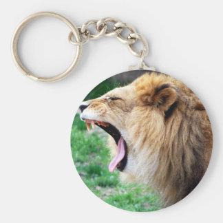 lion roars keychains
