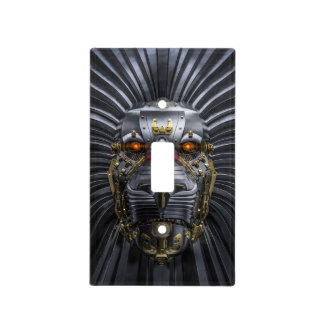 Lion Robot Light Switch Cover
