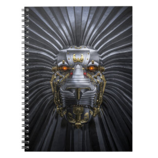 Lion Robot Notebook