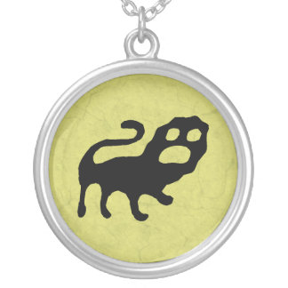 Lion Round Pendant Necklace