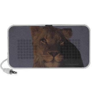 Lion Running Travel Speakers