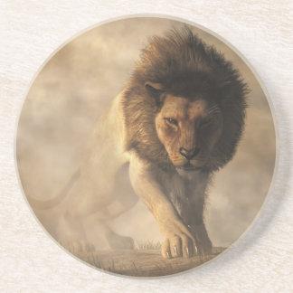 Lion Sandstone Coaster