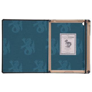 Lion Serpent Blues iPad Cases