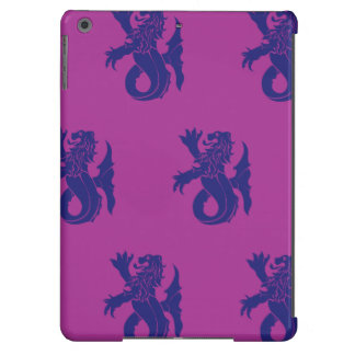 Lion Serpent Purple Magenta Case For iPad Air